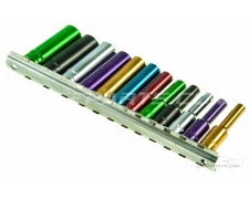 "1/4"" Drive Multi Colour Socket Set"