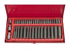 41 Piece Allen-Torx-Star & Spline Kit