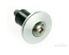 Satin Silver Aluminium 16mm Panel Fixings