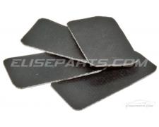 4 x Anti-Rattle Brake Pad Buffers