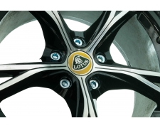 16 x Silver Star Spline Wheel Bolts (42mm Thread)