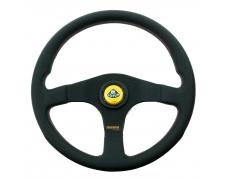 Momo Black Spoke Tuner Steering Wheel