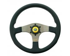 Momo Silver Spoke Tuner Steering Wheel