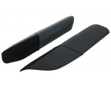 S1 Black Leather Sill Protectors