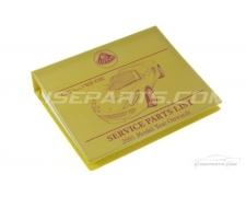 S2 Lotus Elise Parts Manual