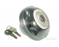 Satin Silver Fuel Cap