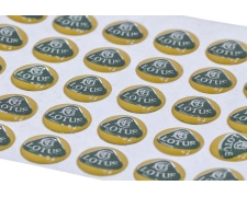 Small Lotus Sticker