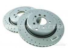 Pair of V6 Exige Rear Brake Discs OEM Lotus