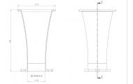 42mm x 150mm Long Air Horn Trumpet Image