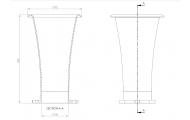 45mm x 150mm Long Air Horn Trumpet Image