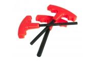 10 Piece Metric /Imperial T Handle Allen Key Set Image